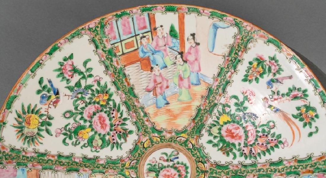 Chinese (ca.18th/19thc.), Rose Medallion Dish - 4