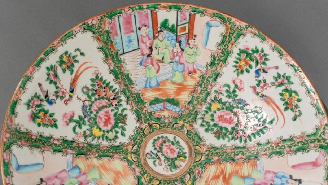 Chinese (ca.18th/19thc.), Rose Medallion Dish - 5