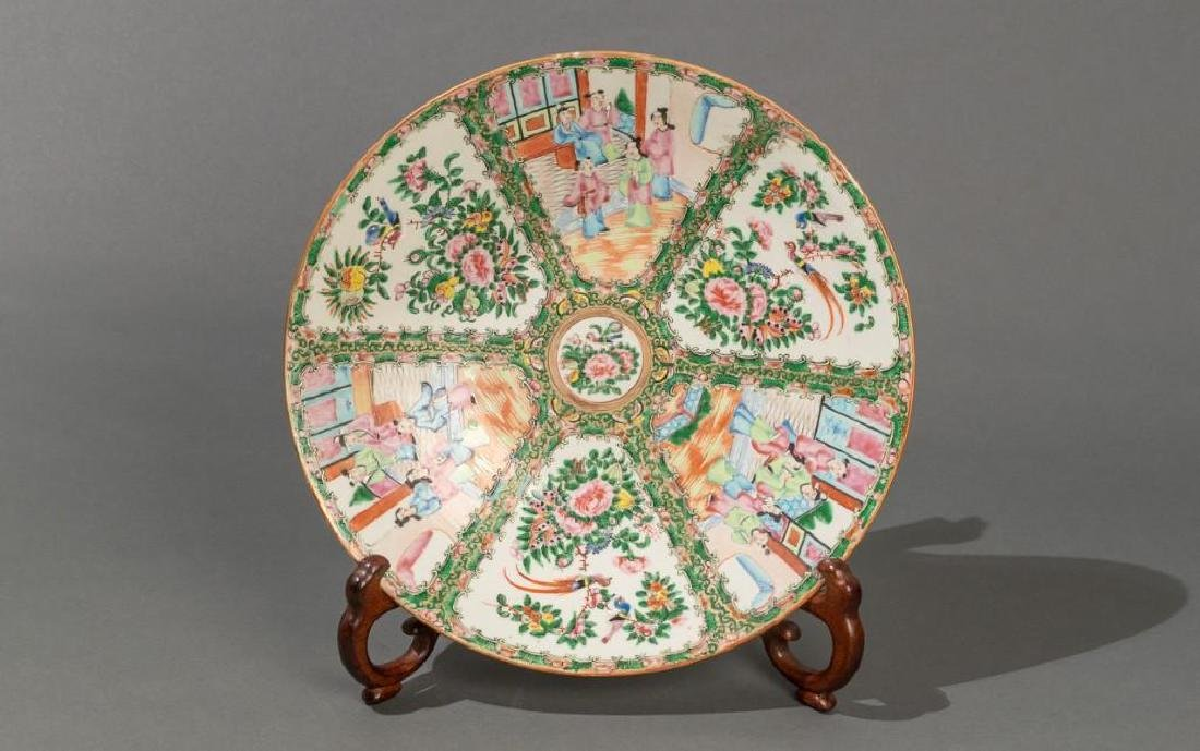 Chinese (ca.18th/19thc.), Rose Medallion Dish - 7