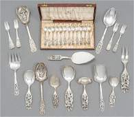 Collection of Norwegian 830 Silver Serviceware
