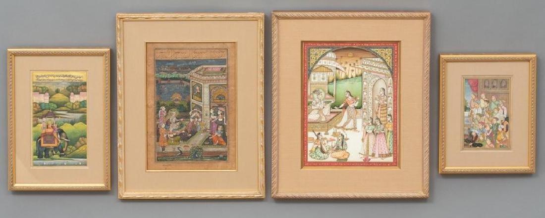 Group of Indian Framed Art