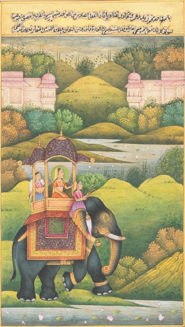Group of Indian Framed Art - 2