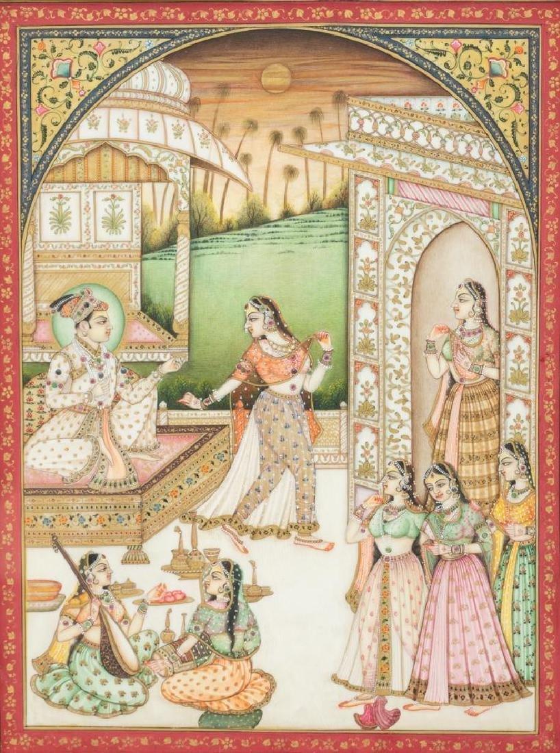 Group of Indian Framed Art - 4