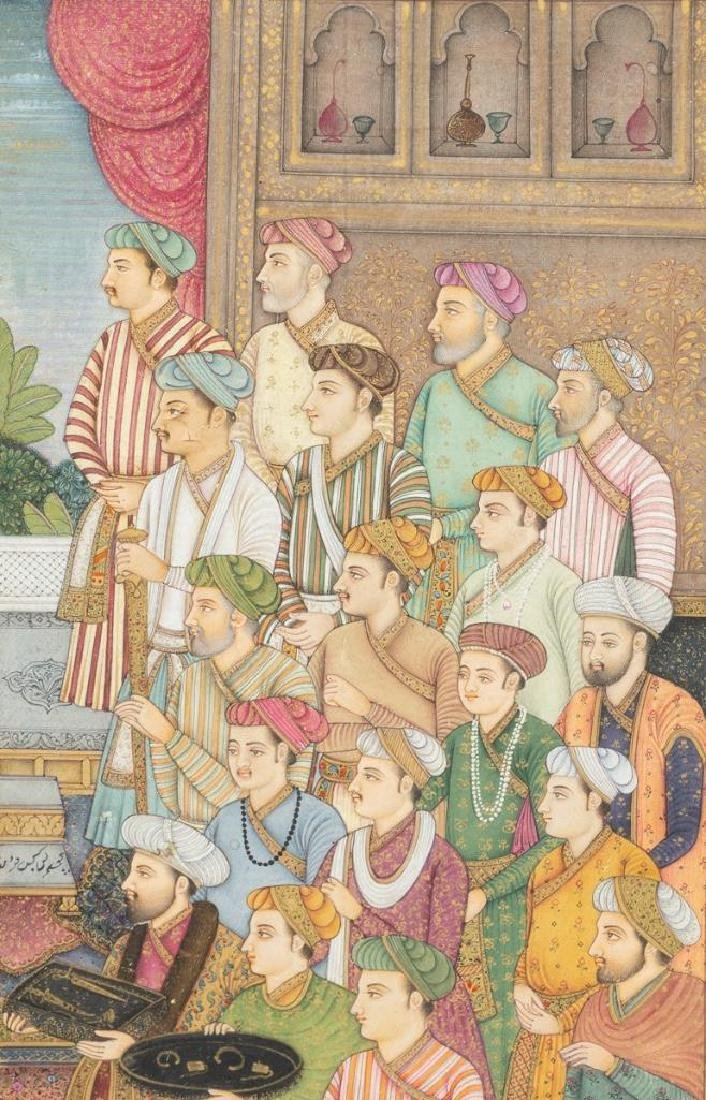 Group of Indian Framed Art - 5