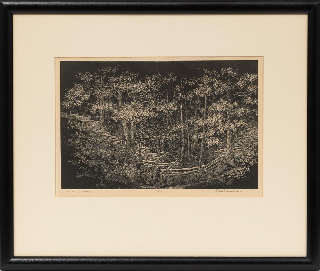 """Leo John Meissner (1895-1977), """"Old Rail Fence"""", - 2"""