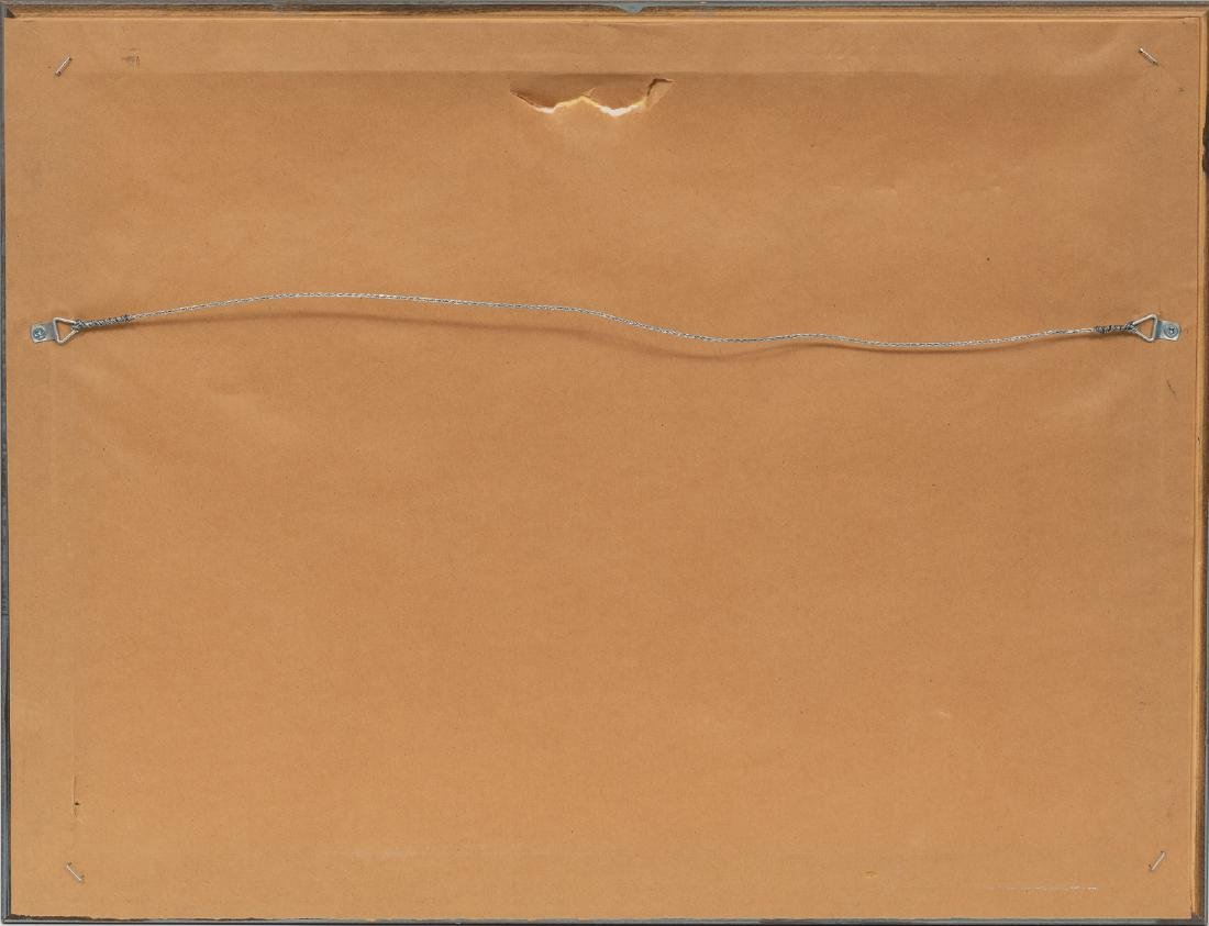 """Merritt Mauzey (1897-1973), """"Rock Pens"""", lithograph, - 6"""