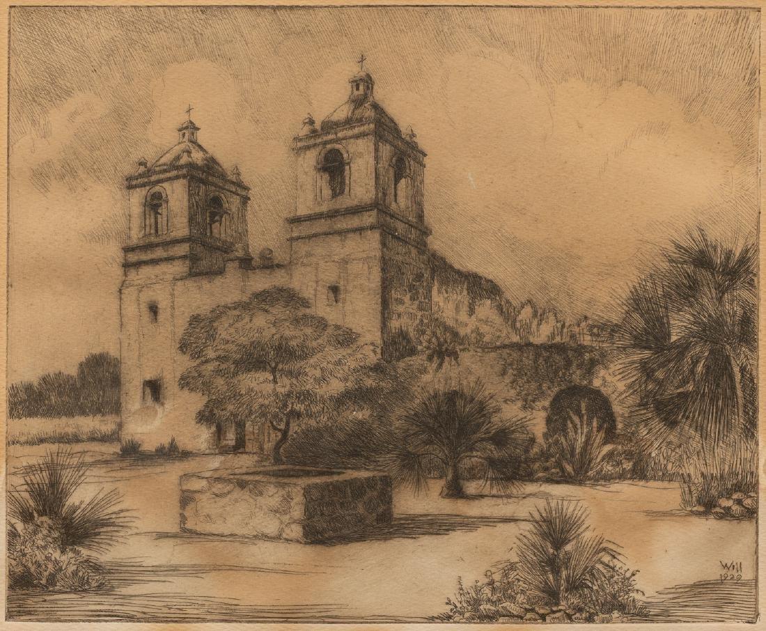 Bernhardt T. Wall (1872-1956), Mission Concepcion,