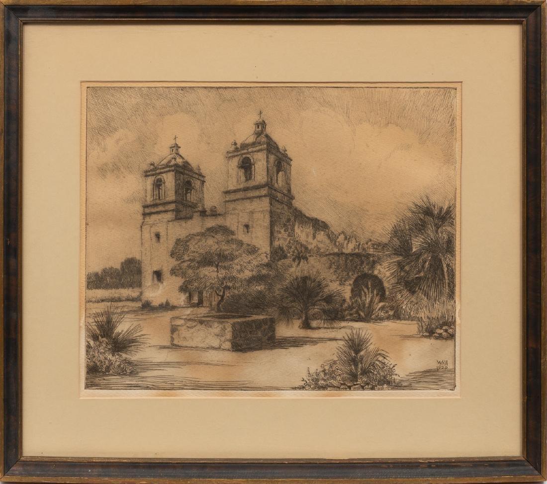 Bernhardt T. Wall (1872-1956), Mission Concepcion, - 2