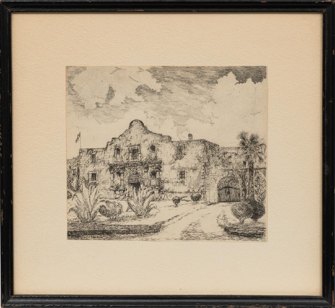 Willie Lucille Reed Rowe (1914-1986), The Alamo, 1949, - 2