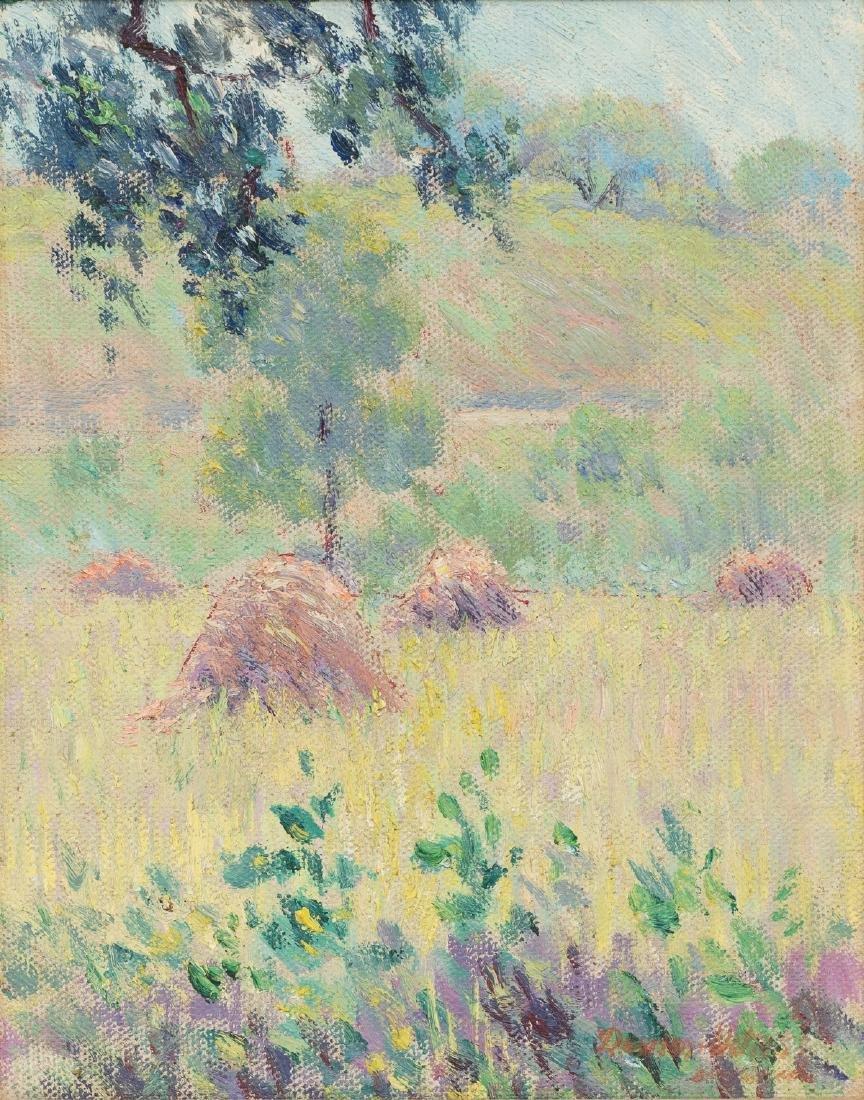 Dawson Dawson-Watson (1864-1939), Haystacks, c. 1920s,