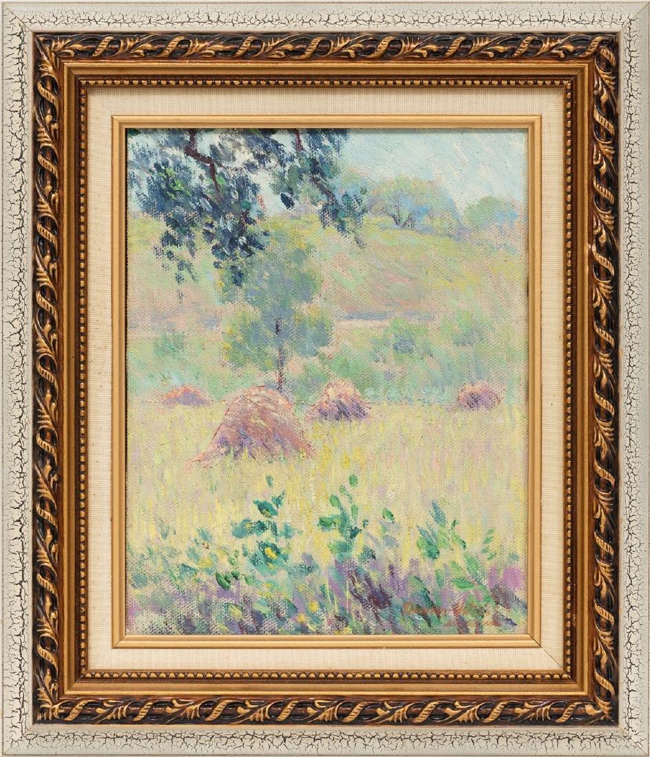 Dawson Dawson-Watson (1864-1939), Haystacks, c. 1920s, - 2