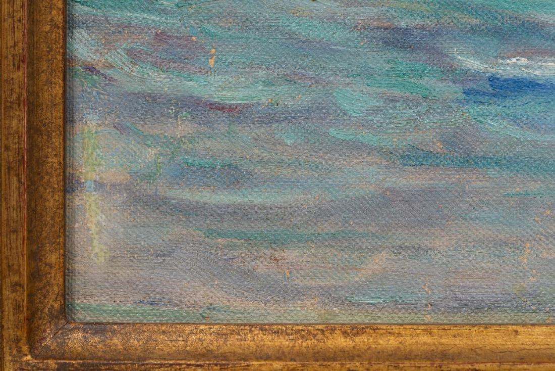 """Seymour Thomas (1868-1956), """"Shore at Monterrey"""", oil - 3"""