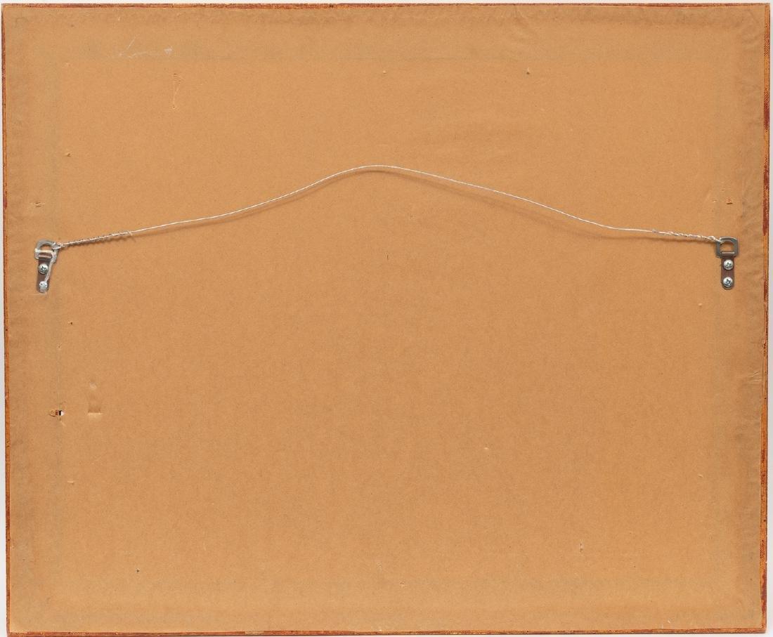 Gutzon Borglum (1867-1941), Herding Scene, watercolor, - 4