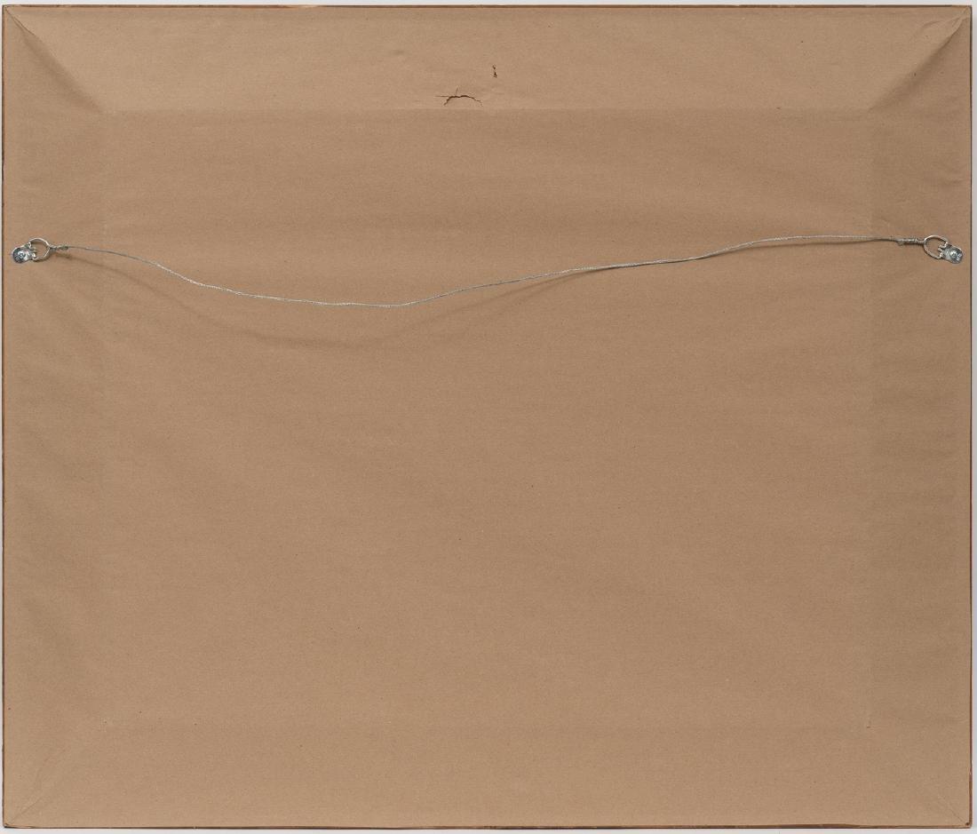 "G. Harvey (1933-2017), ""Counting Calves"", 1971, oil on - 4"