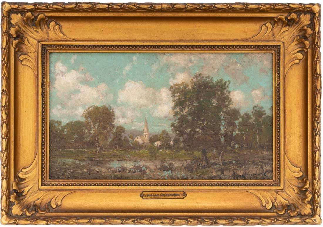 Julian Onderdonk (1882-1922), A Country Church, oil - 2
