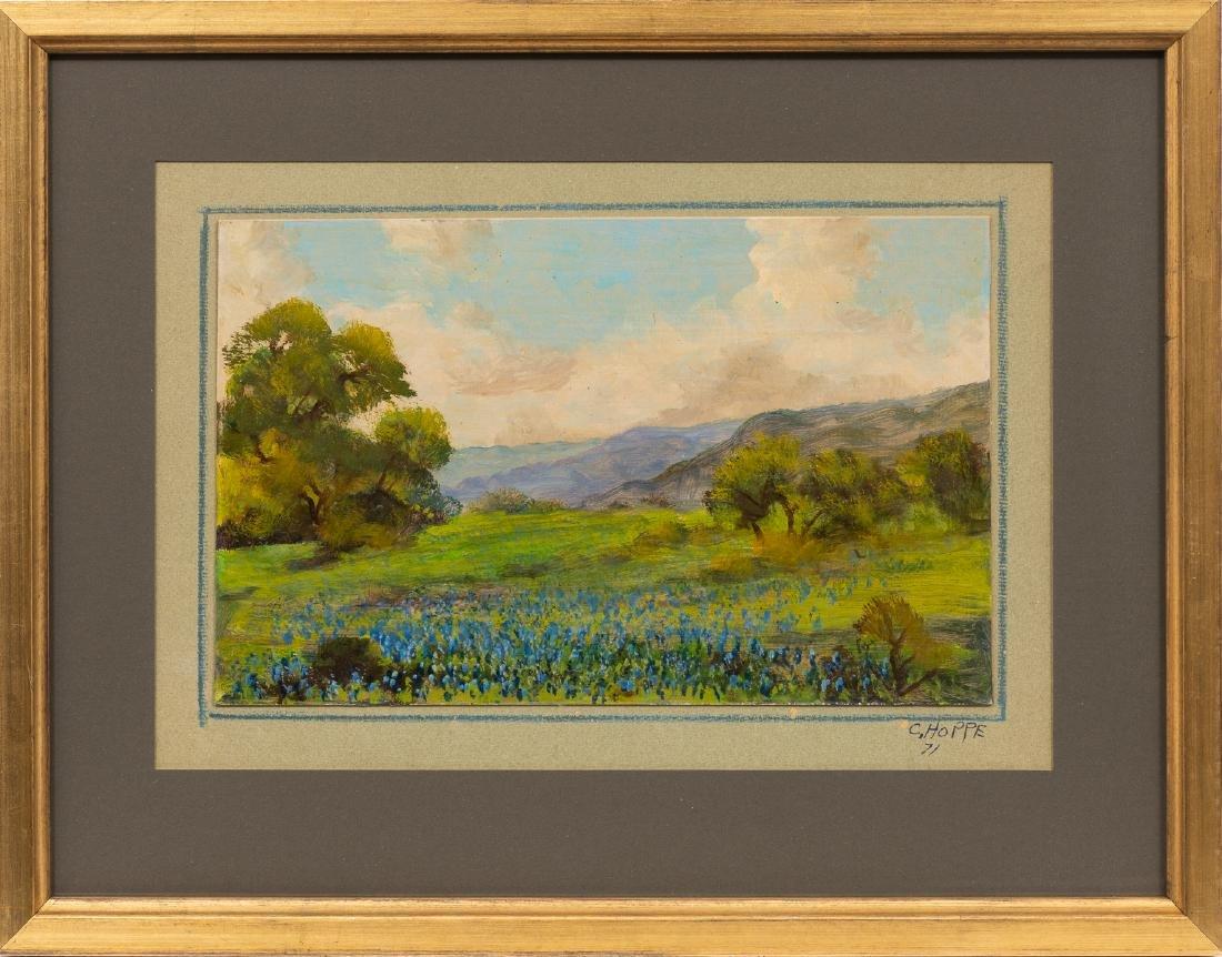"Carl Hoppe (1897-1981), ""Hills of Bandera, Texas"", - 2"