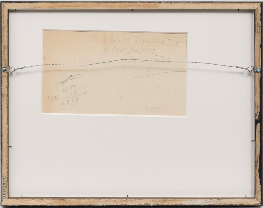 "Carl Hoppe (1897-1981), ""Hills of Bandera, Texas"", - 4"