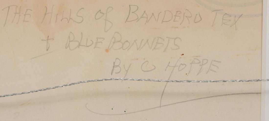 "Carl Hoppe (1897-1981), ""Hills of Bandera, Texas"", - 5"