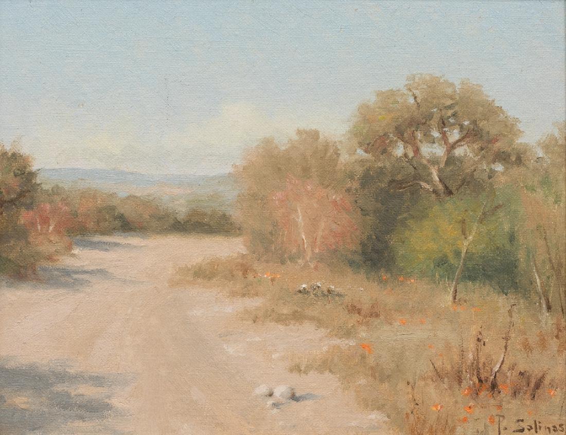 Porfirio Salinas (1910-1973), Country Road, oil