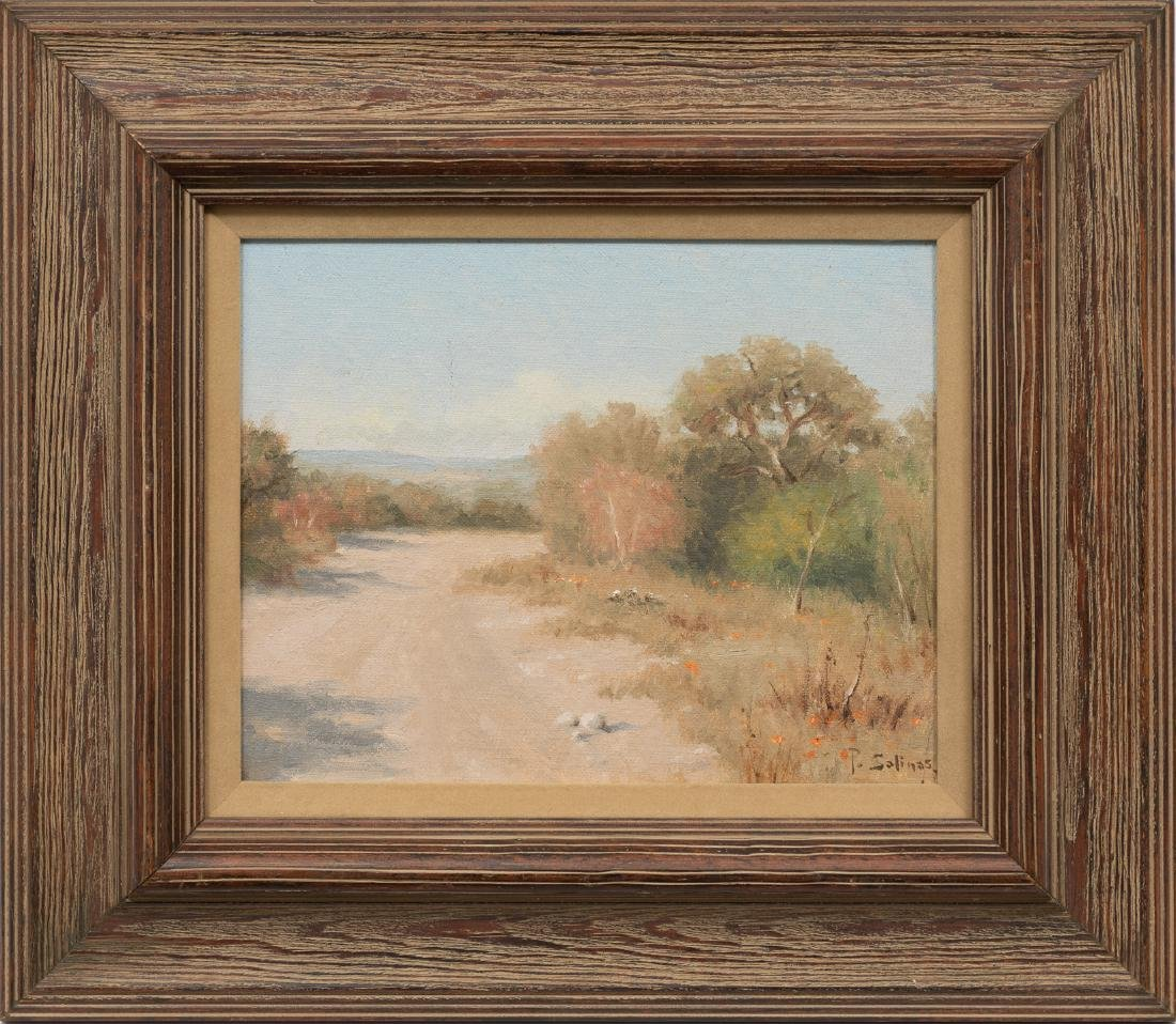 Porfirio Salinas (1910-1973), Country Road, oil - 2