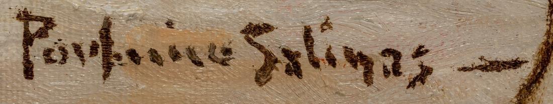 """Porfirio Salinas (1910-1973), """"Autumn"""", oil, 24 x 36"""" - 3"""