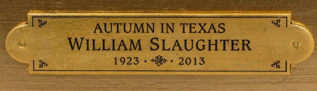 """William Slaughter (1923-2003), Autumn, oil, 24 x 36"""" - 4"""