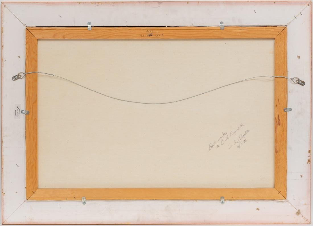 """William Slaughter (1923-2003), Autumn, oil, 24 x 36"""" - 5"""