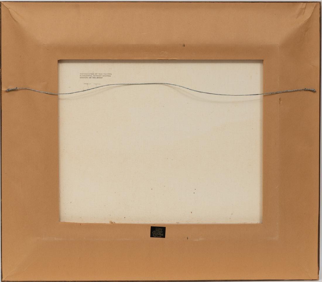 """Don Warren (1935-2006), Autumn, oil on canvas, 20 x 24"""" - 4"""