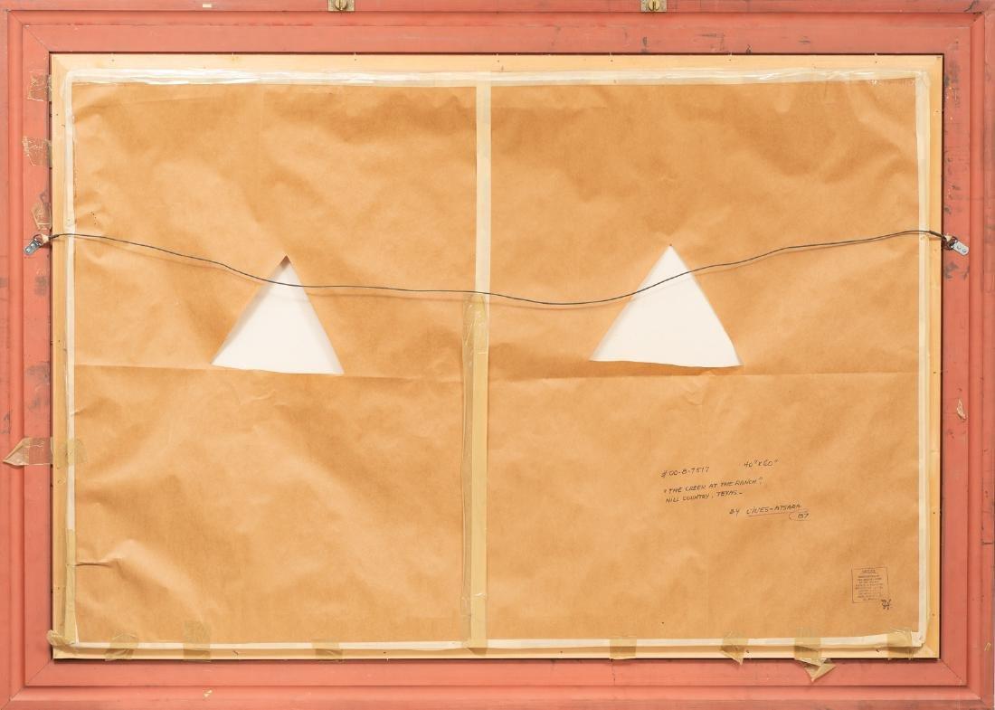 "Jose Vives-Atsara (1919-2004), ""The Creek"" oil 40 x 60"" - 4"