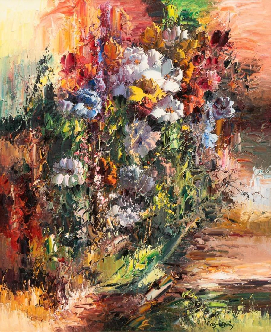 """Jose Vives-Atsara (1919-2004), """"Wild Flowers"""", 1989/90,"""