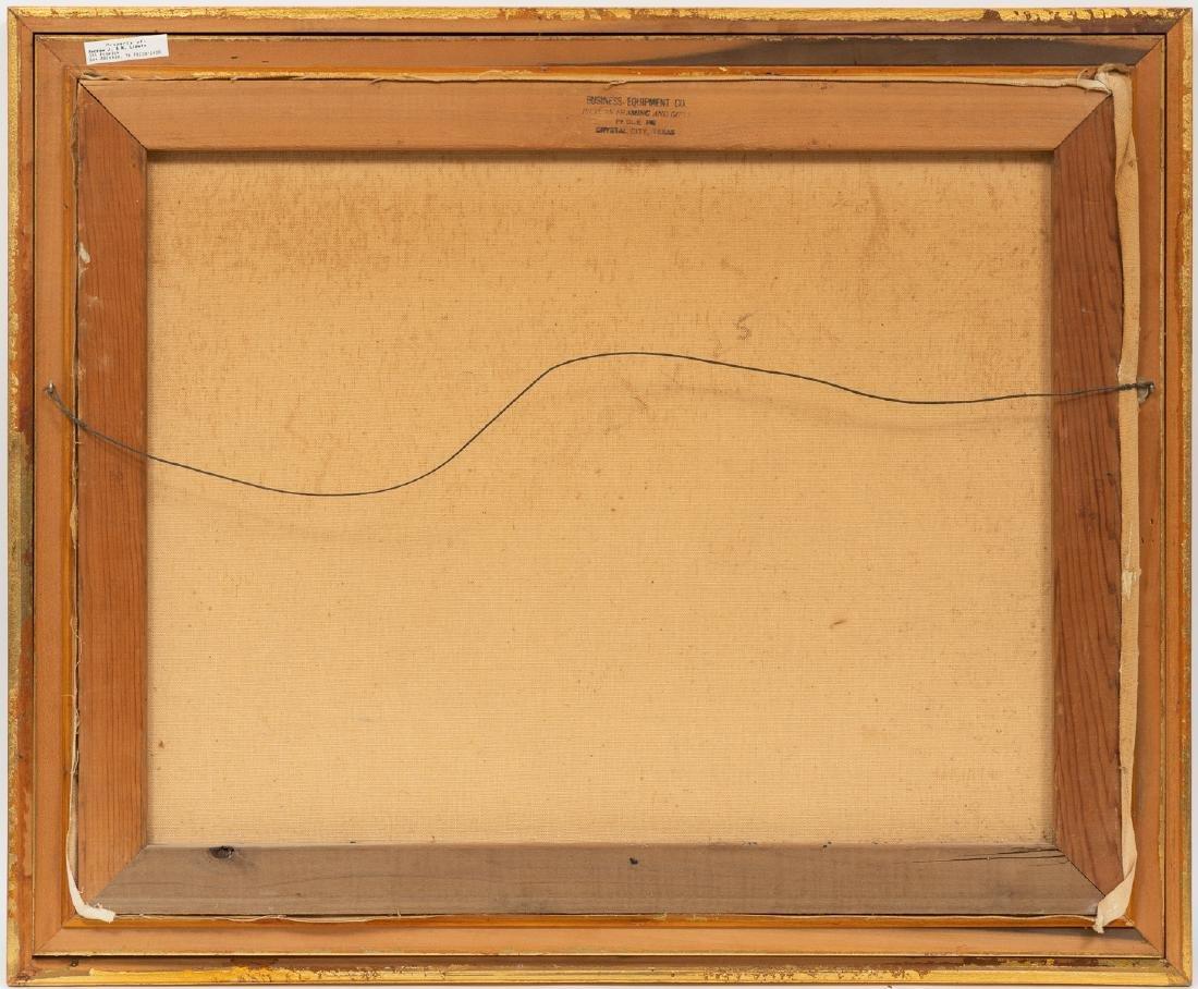 """Exa Wall (1897-1972), Cactus, oil on canvas, 20 x 25"""" - 4"""