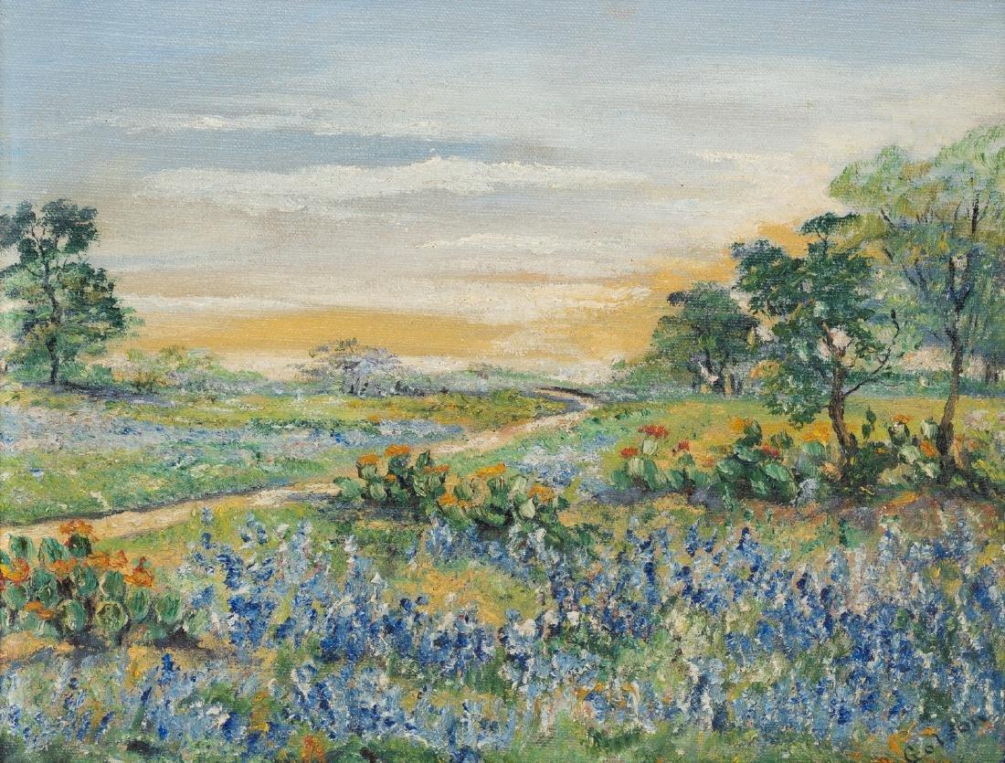 Josephine Polley Golson (1869-1956), Bluebonnets