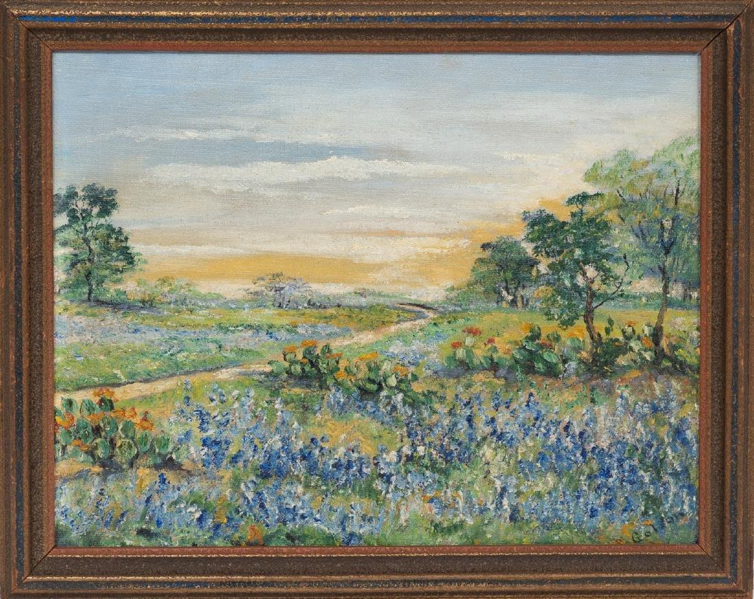 Josephine Polley Golson (1869-1956), Bluebonnets - 2