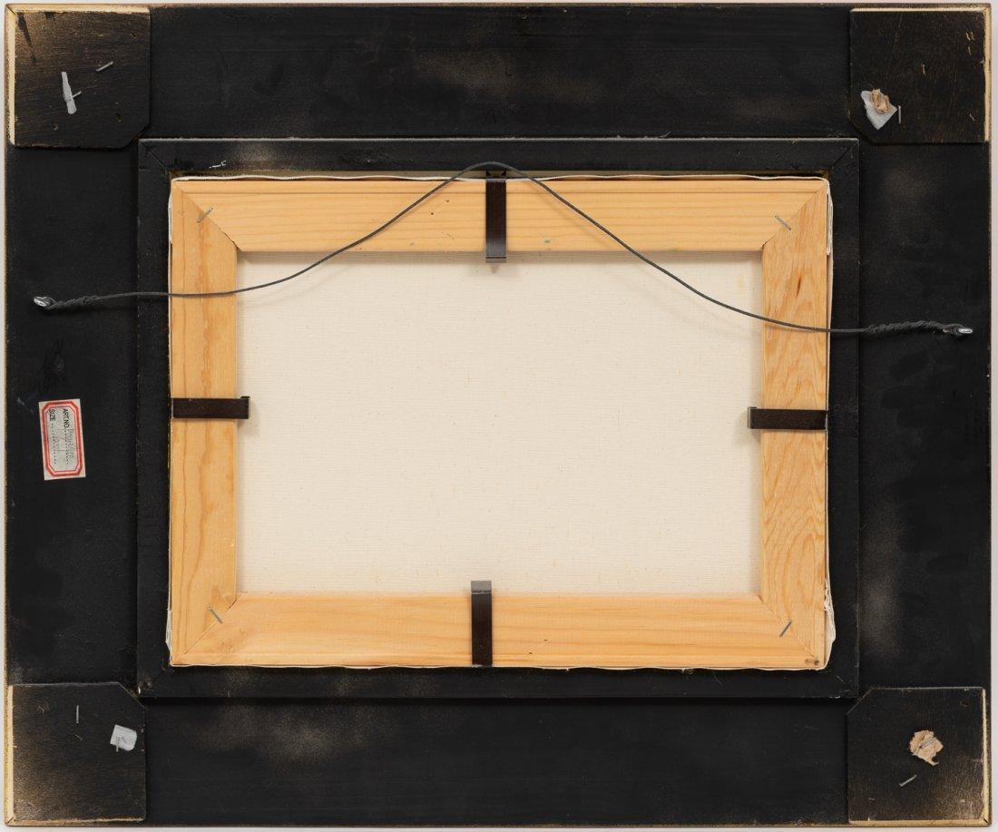 "Robert Harrison, Bluebonnets, oil on canvas, 12 x 16"" - 4"