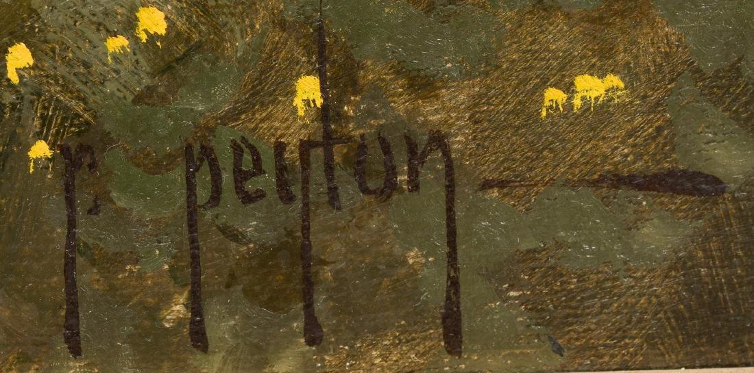 Randy Peyton (b. 1958), Bluebonnets, 1987, oil - 3
