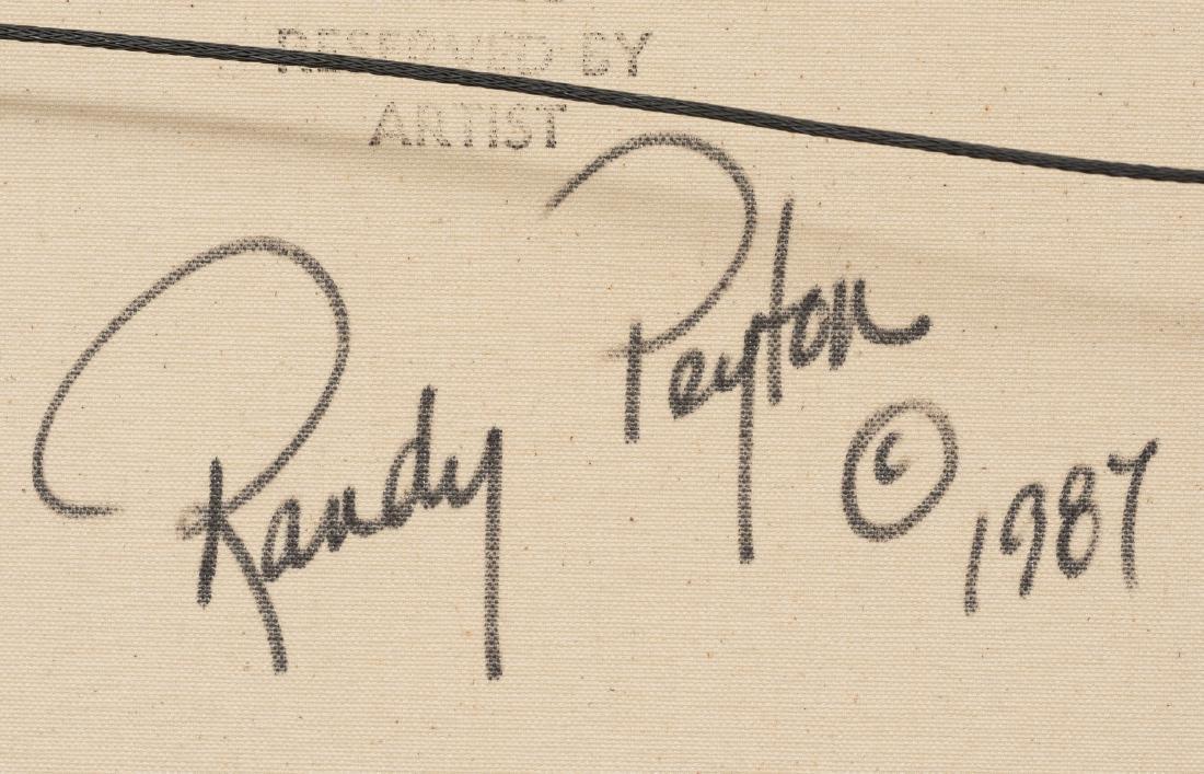 Randy Peyton (b. 1958), Bluebonnets, 1987, oil - 5