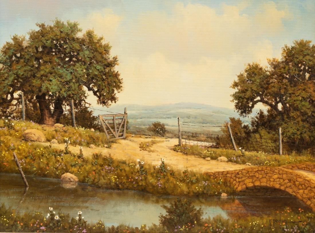 Randy Peyton (b. 1958), Stone Bridge Creek, oil