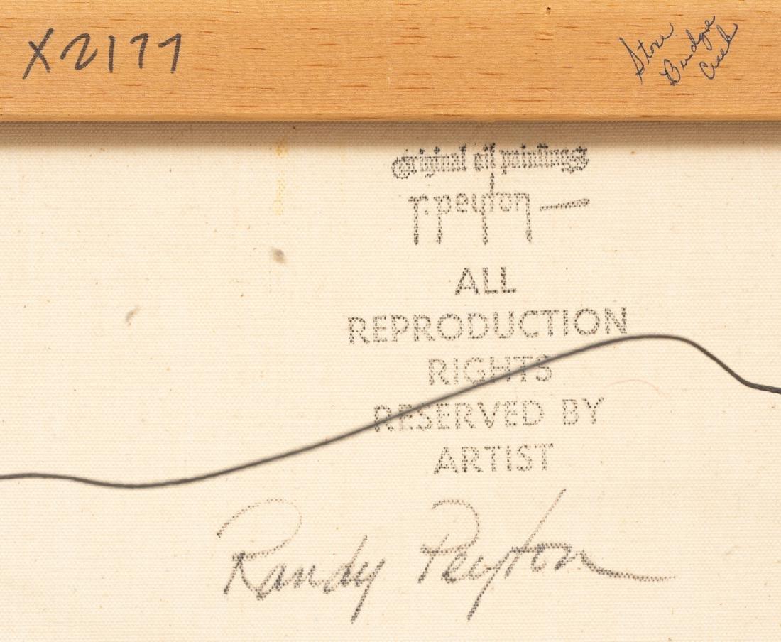 Randy Peyton (b. 1958), Stone Bridge Creek, oil - 5