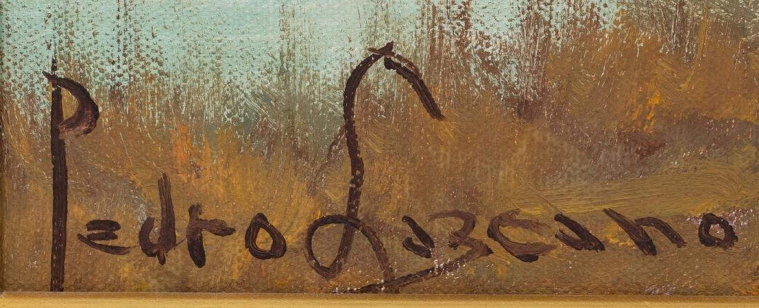 Pedro Lazcano (1909-1973), River Landscape, oil - 3
