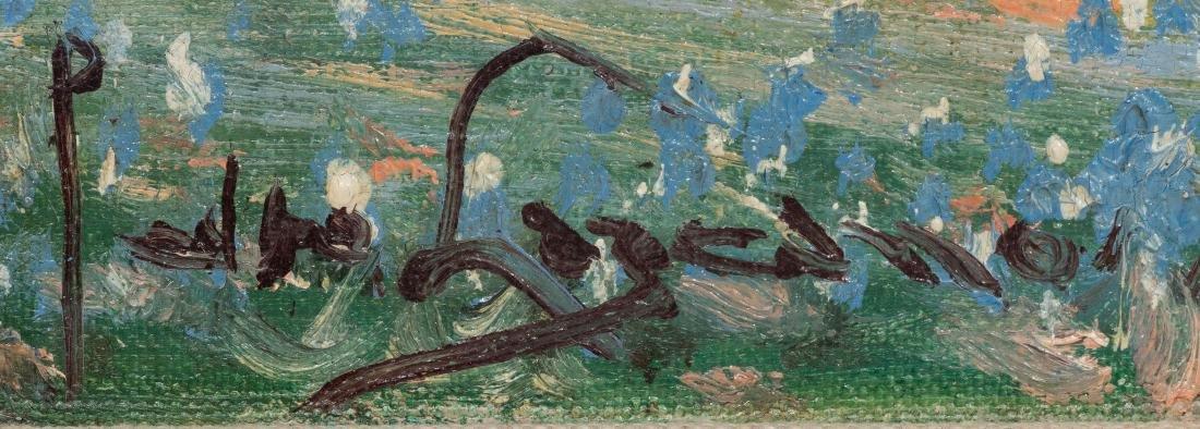 Pedro Lazcano (1909-1973), Bluebonnets, oil - 3