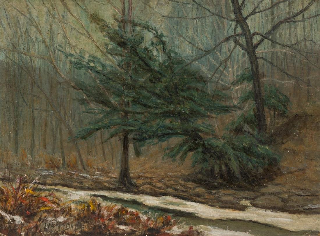"""Ira McDade (1867-1951), """"Winter in Forest Park"""", 1934,"""