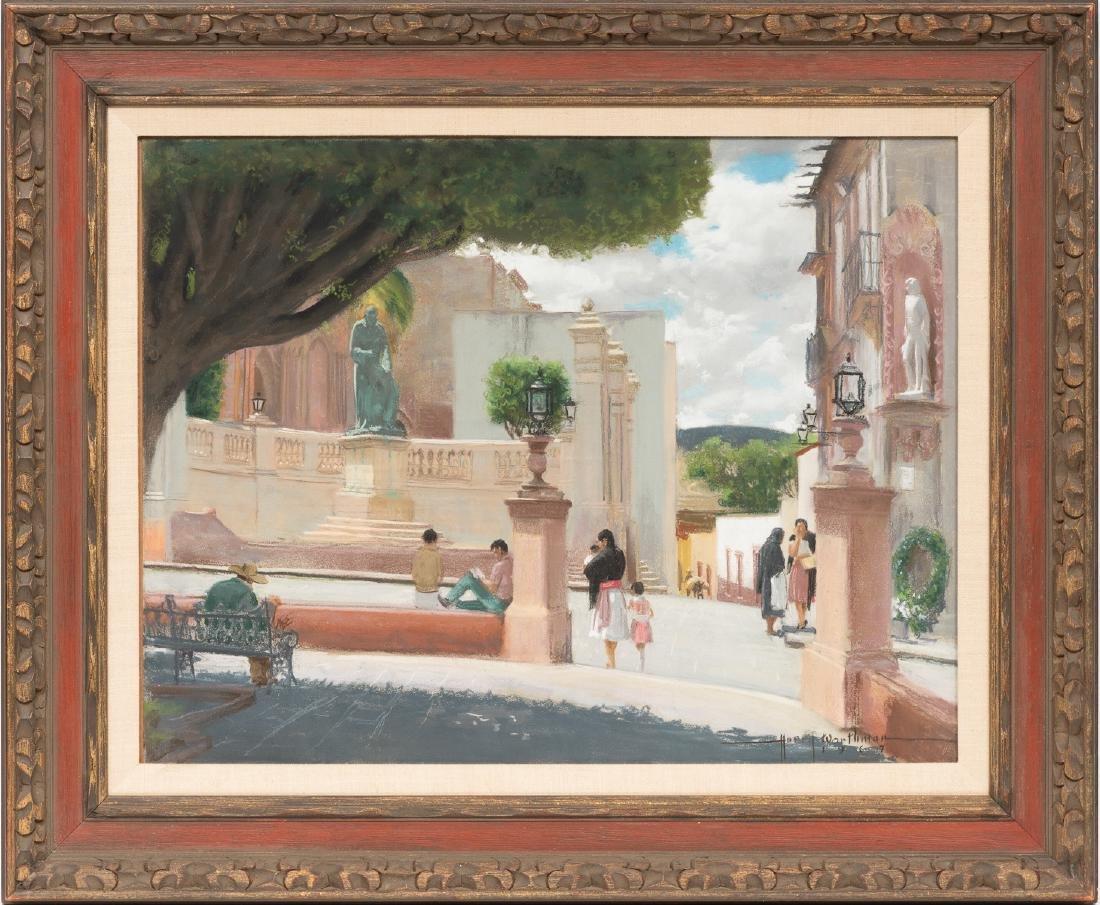 "Harry Worthman (1909-1989), ""San Miguel"", 1967, pastel - 2"