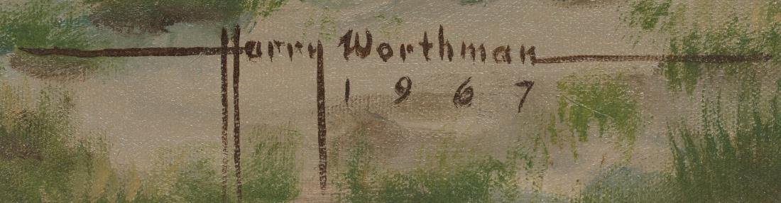 "Harry Worthman (1909-1989), ""And the Rains Came"", 1967, - 3"