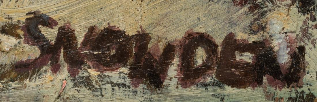 Chester Snowden (1900-1984), Expressionist Street Scene - 3