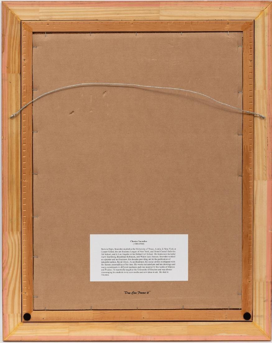 Chester Snowden (1900-1984), Expressionist Street Scene - 4