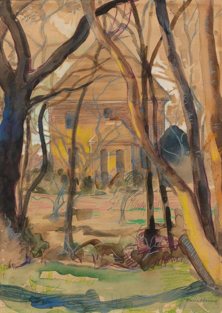 Marie Haines (1881-1979), Home in the Woods,