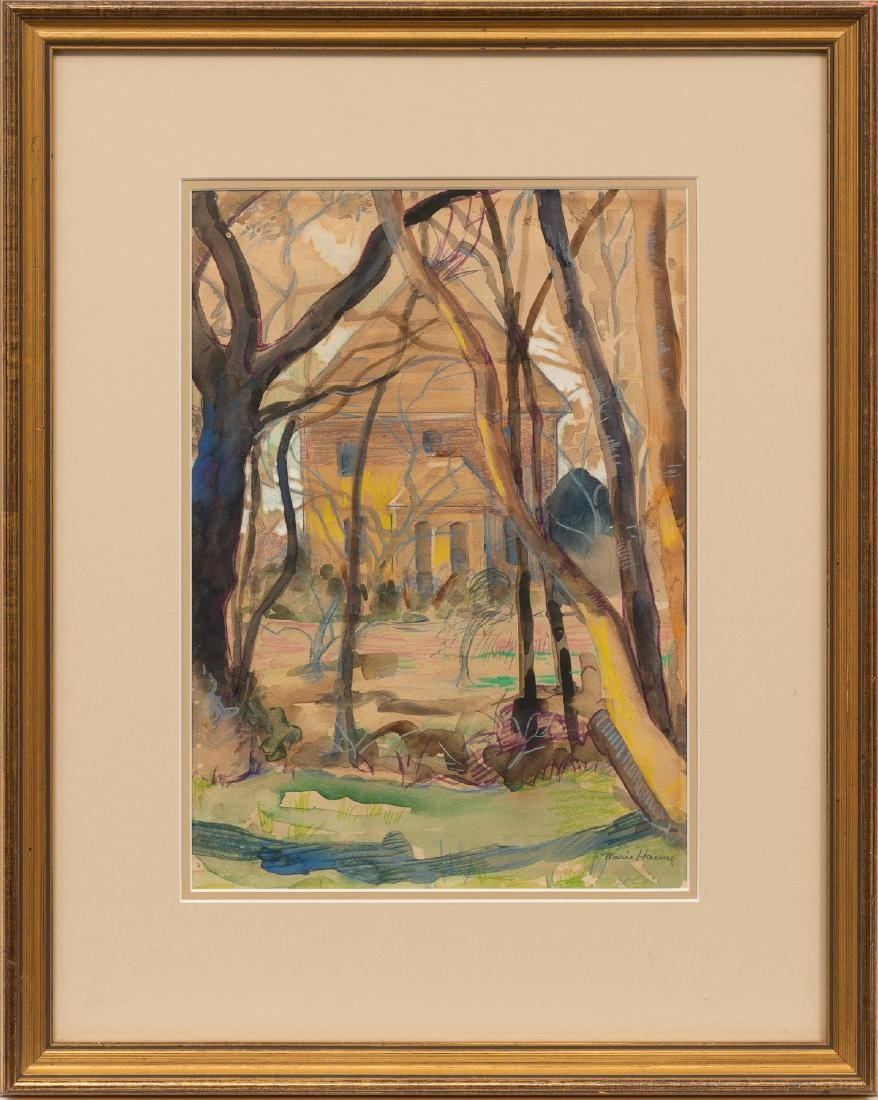 Marie Haines (1881-1979), Home in the Woods, - 2