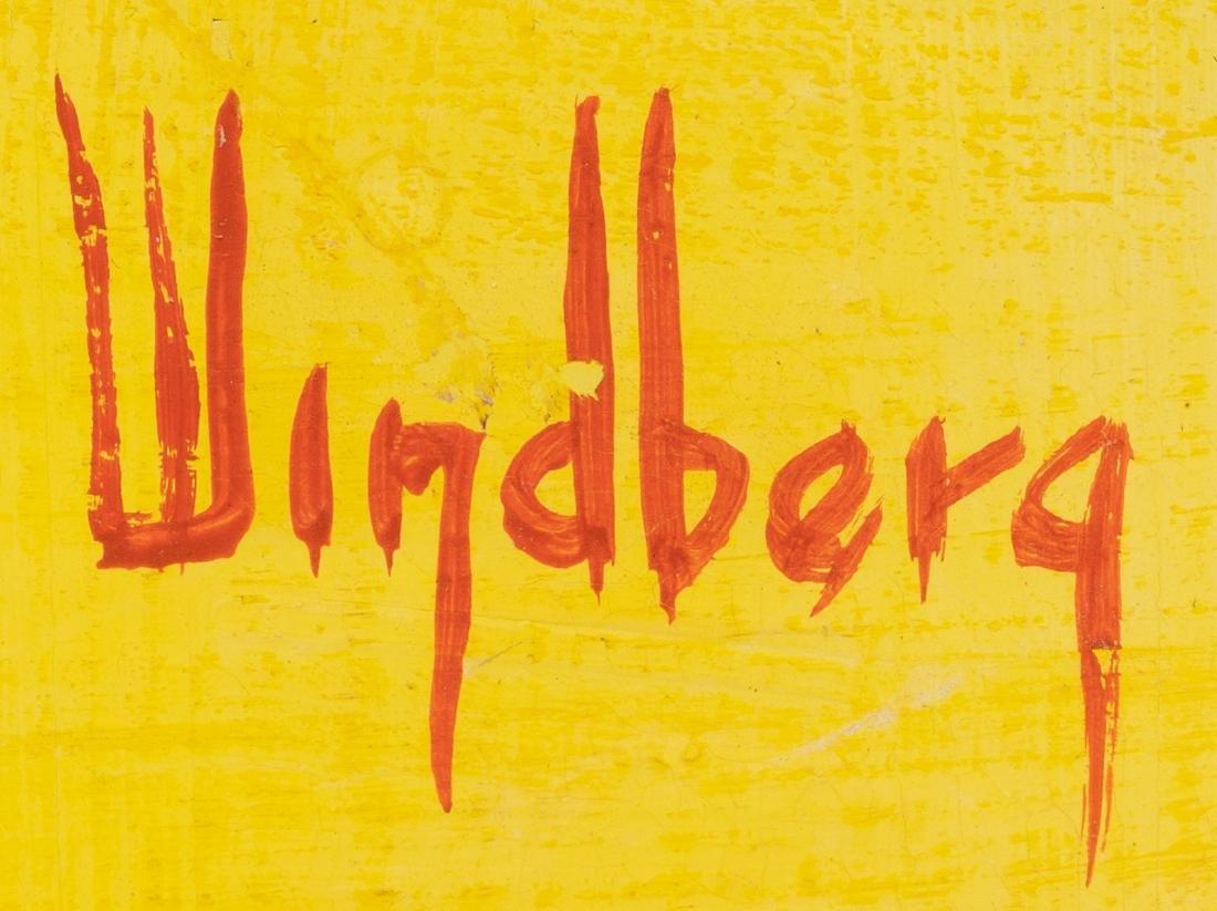 Dalhart Windberg (b. 1933), Modernist Sailboats, oil - 3