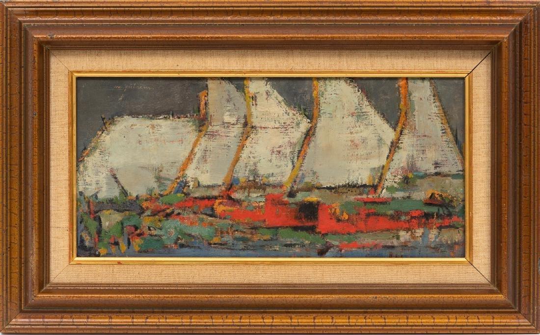Margaret Putnam (1913-1989), Sailboats, oil on board, - 2