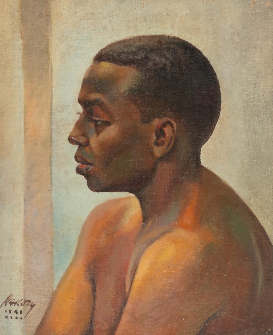 Bill Rakocy (1924-2015), Portrait: African-American Man